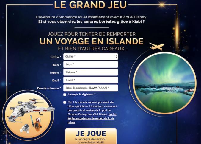 Participez au Grand jeu Kiabi - Disney Un Noel plein d'aventure